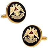 Cuff-Daddy Scottish Rite Cufflinks with Presentation Box