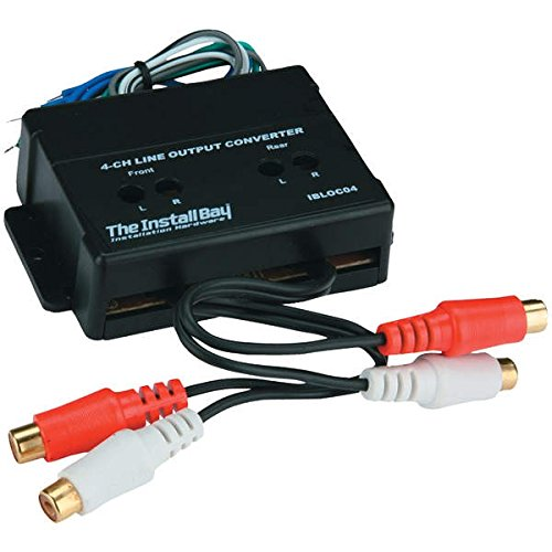 Install Bay IBLOC04 4 Channel Adjustable Line Level Convertor 60 Watt Each