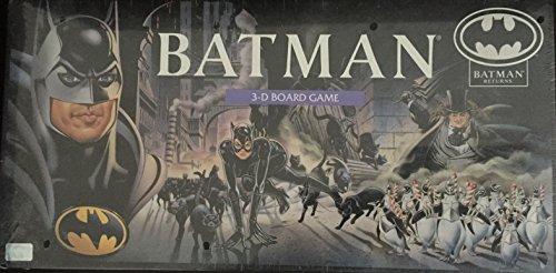 Batman Returns 3 D Board Game (1992) by DC Comics