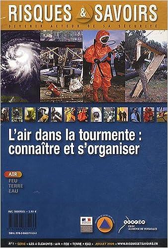 Télécharger en ligne Risques & Savoirs, N° 1, Juillet 2011 : L'air dans la tourmente : connaître et s'organiser pdf