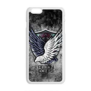 Happy Attack on titan Recon Corps Cell Phone Case for Iphone 6 Plus