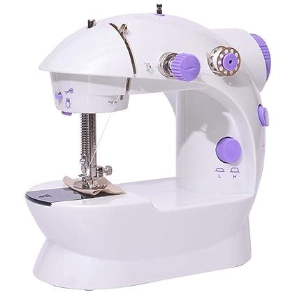 GSKTY Máquina de Coser Casa multifunción Mini máquina de Coser eléctrica 21 * 19 * 9