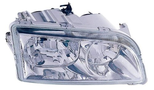 V40 Headlamp Assembly - For 2000 2001 2002 2003 2004 Volvo S40 / V40 Headlight Headlamp Assembly Passenger Right Side Replacement Capa Certified VO2503104