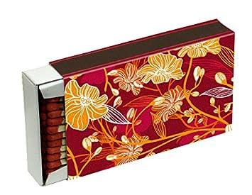 20 cajas a 50 cerillas para barbacoas, chimenea y velas Camino 10 cm (caja de cerillas 1000), diseño de decoración KM Match: Amazon.es: Hogar