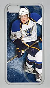 TJ OSHIE Custom PC Transparent Case for iPhone 5C by icasepersonalized