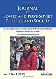 img - for Journal of Soviet and Post-Soviet Politics and Society: 3:1 (2017) book / textbook / text book