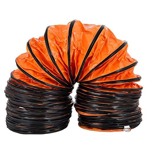 VEVOR 25FT Flexible Duct Hosing for 12 INCH Exhaust Fan PVC(12IN 25FT)