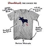 Chowdaheadz Sox On Moose Socks Boston Fan T-Shirt