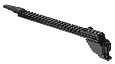 UTG PRO AK47 19-Slot Low Pro Picatinny Rail, QD, Rear Sight