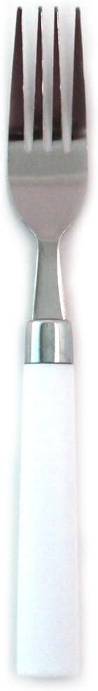 Elegante confezione forchetta da tavola cesto dining confezione da 4 White