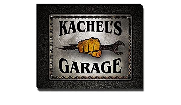 Kachel Voor Garage : Amazon kachel s garage mechanic gallery wrapped canvas print