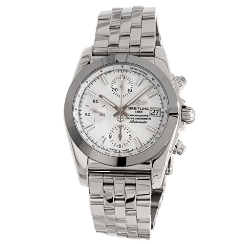 Breitling Chronomat 38 W1331012/A774 Women's Quartz 38MM Mother-of-Pearl Dial Watch (Certified Pre-Owned)