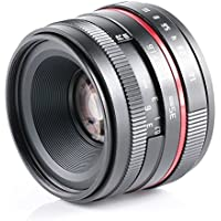 50 F1.8 muti-coating glass red circle portrait shooting high definition lens for Fujifilm FX XE3 XA2 XA3 XT2 XT10 X100 X100T