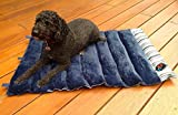 """Portable Dog Bed 36"""" x 24"""" Roll Up Folding Mat Crate Pad Camping Bed or Carrier Cushion"""