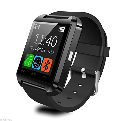 Amazon.com: SolarM Bluetooth Smart Watch Bracelet Wristband Fitness Tracker Android IOS Pulsera Relojes: Electronics