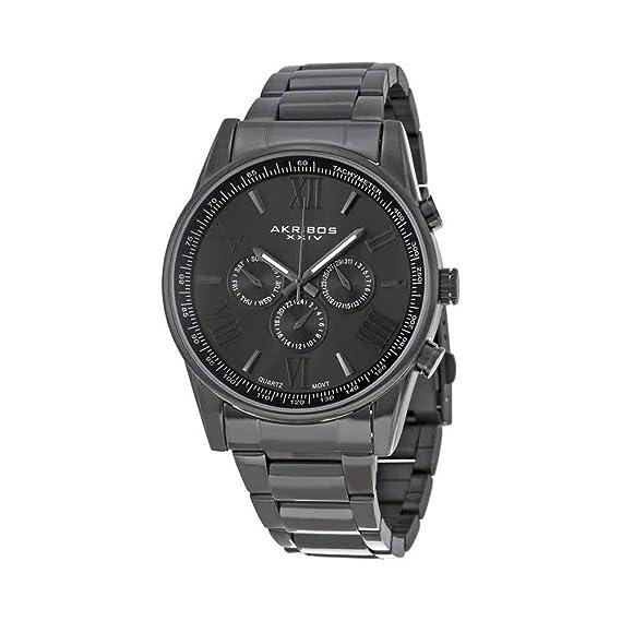 c3e4a6669468 Akribos XXIV Reloj de Pulsera AK736BK  Amazon.es  Relojes