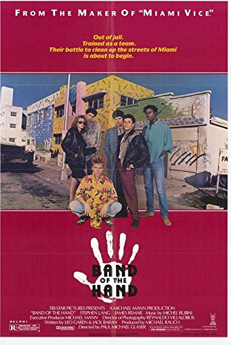 amazon com band of the hand poster 11 x 17 posters prints
