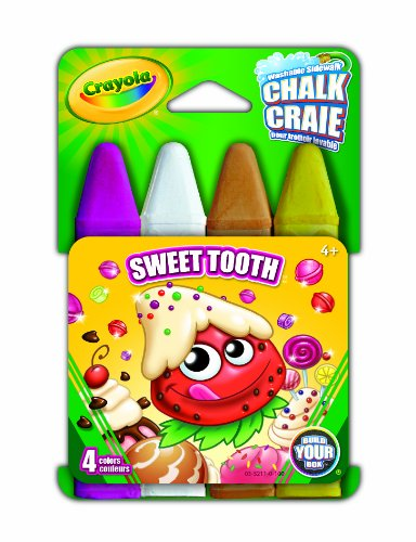 Crayola Build Your Box Sweet Tooth Chalk (4 Count)