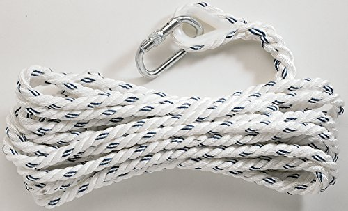 Froment Men's Panoply Mimas03 Safety Anchorage Line Rope + 1 Karabiner - Anchorage Mens Clothing