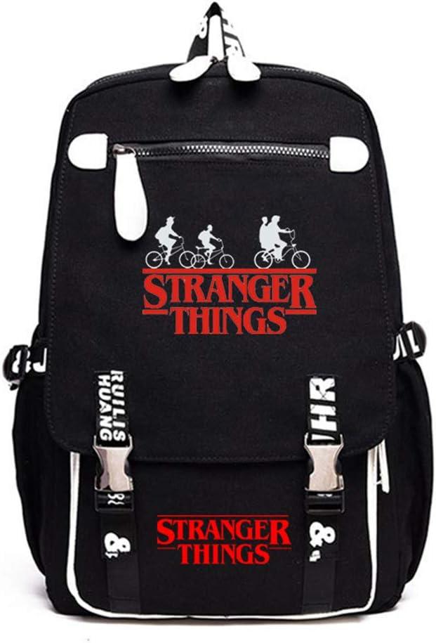 1 Stranger Things 3 Escolar Mochila Grande Stranger Things Bolsa para Hombre Port/átil Backpack Adolescentes Unisex Casual Hombro Mochila para Ni/ños y Ni/ñas Mochila Stranger Things Mujer