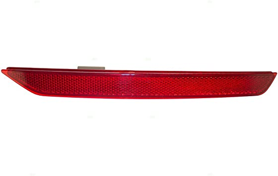 1648200974 Rear Bumper Reflector Red 1 Pair Right and Left Side Fit for Mercedes-Benz 2010 2011 2012 GL350 GL450 GL550 1648201074