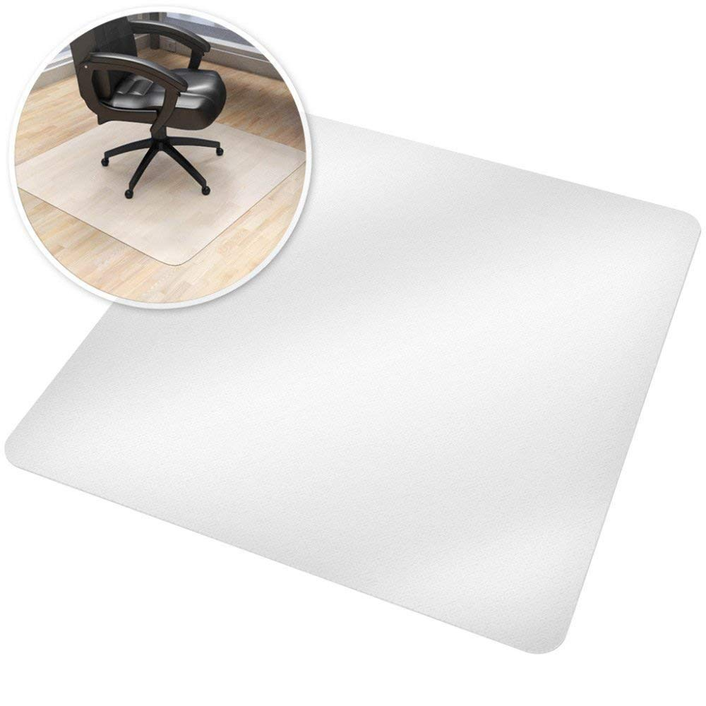 CHAIR MAT for Hard Floors PVC Plastic Non Slip Carpet Protection Translucent High Impact Strength,Thicken-140x140cm