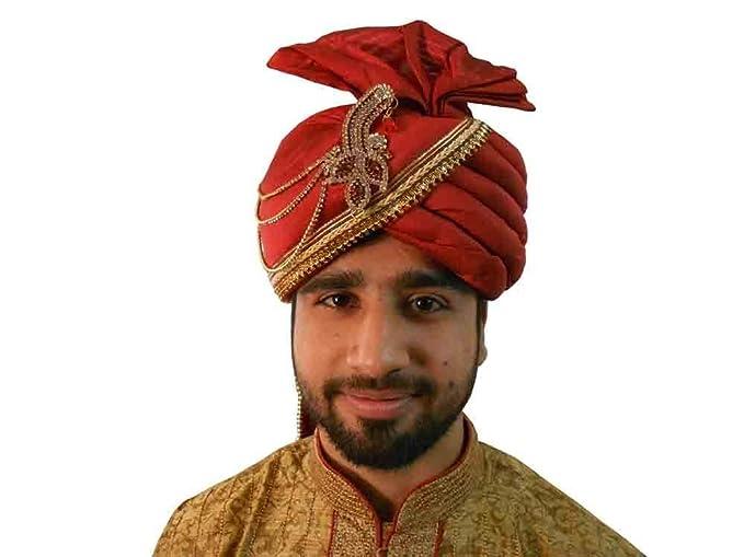 Kalra Creations Designer Men Hat Wedding Turban Indian Pagri ... bc735025b