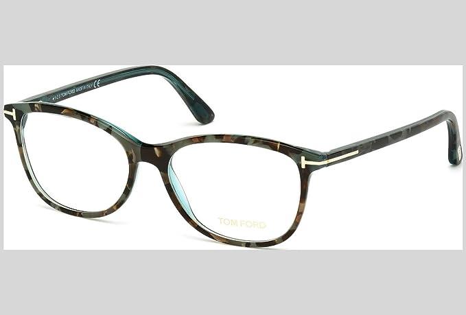 Tom Ford FT5388, Monturas de Gafas para Mujer, Marrón (Avana), 52.0