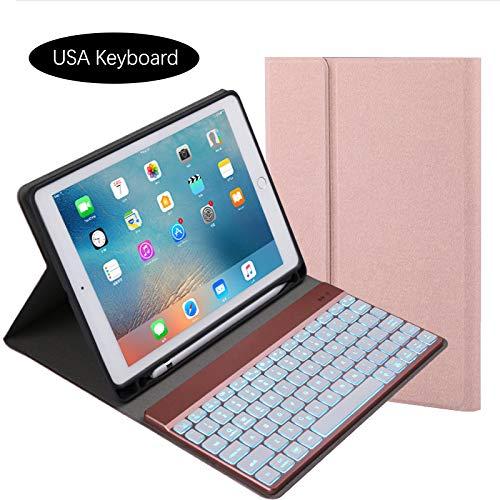 新しい到着 Yuqoka Pro iPad 1/2 B07KXX2NYQ iPad Pro 9.7インチキーボードケース 取り外し可能なレザーワイヤレス 76YY350O16OV7RZY519OI iPad ローズゴールド B07KXX2NYQ, 田方郡:d98e101f --- a0267596.xsph.ru