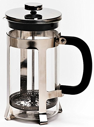french press coffee maker by real people 8 cup 32 oz coffee tea maker with stainless steel. Black Bedroom Furniture Sets. Home Design Ideas