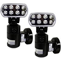 Versonel Nightwatcher Pro LED Security Motion Recording Light with WiFi 2 Pack
