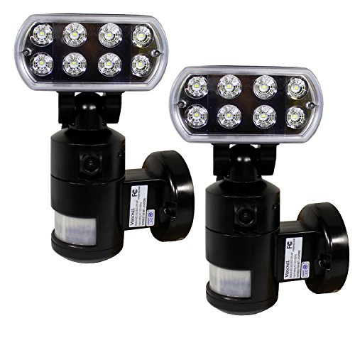 Versonel Nightwatcher Pro LED Security Motion Recording Light with WiFi 2 Pack by Versonel