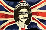 Pyramid America Sex Pistols God Save the Queen Music Poster 36x24 inch