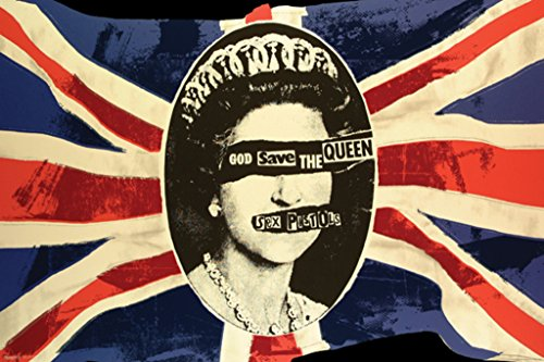 (Pyramid America Sex Pistols God Save The Queen Music Poster 36x24 inch)