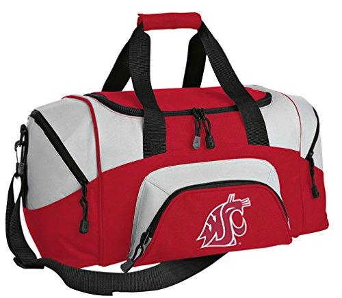 SMALL Washington State Travel Bag Washington State University Gym Bag by Broad Bay