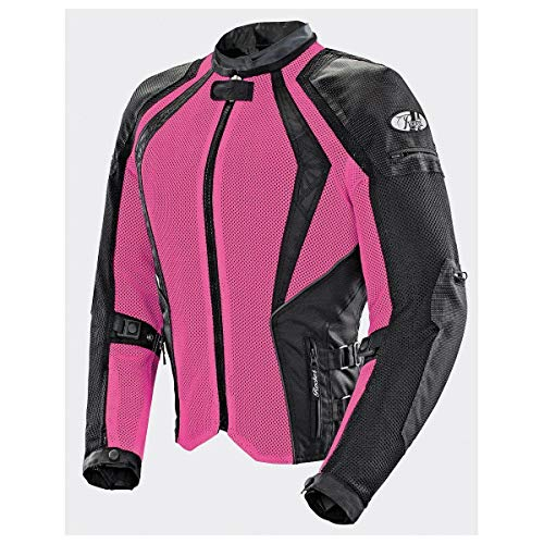 (Joe Rocket Cleo Elite Women's Mesh Motorcycle Jacket (Pink, 1 Diva))