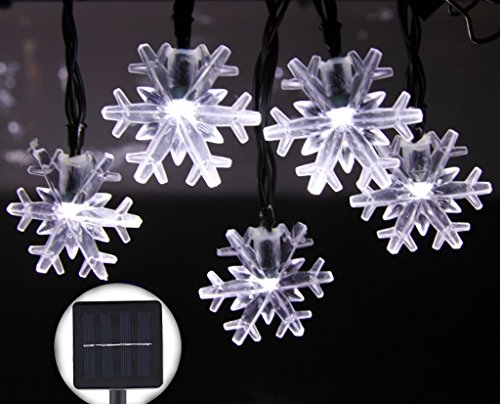 Outdoor Led Snowflake Christmas Lights - 1