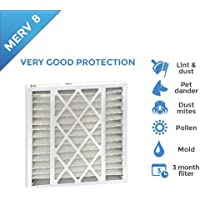 20x25x5 MERV 8 Replacement Filters for Trion Air Bear. 2 Pack