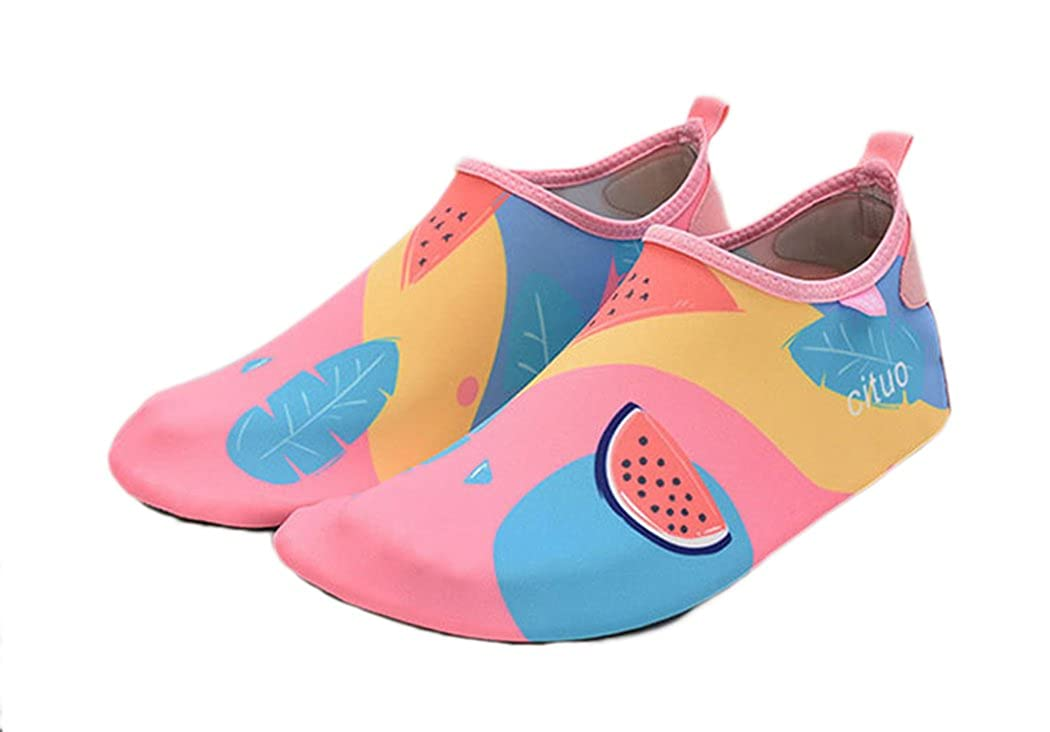 Kids Swim Womens and Mens Water Shoes Barefoot Lightweight Quick-Dry Aqua Socks Shoes for Beach Pool Surfing Yoga Exercise