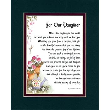 Amazon Com A Gift Present Poem For A Son Or Daughter The Youngest