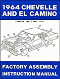 1964 CHEVELLE, SS, MALIBU & EL CAMINO FACTORY ASSEMBLY INSTRUCTION MANUAL. INCLUDES: 300, Deluxe, Malibu, SS, SS-396, Concours, El Camino, Convertibles, 2- & 4-door hardtops, Station Wagons, and Super Sports. CHEVROLET CHEVY 64