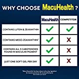 MacuHealth Eye Vitamins Supplement for Adults