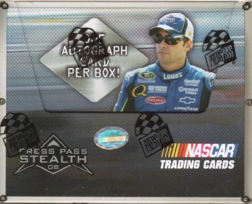 2008 Press Pass Stealth Racing HOBBY Box - 24P5C