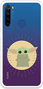 Funda para Xiaomi Redmi Note 8T Oficial de The Mandalorian Baby Yoda Siluetas para Proteger tu móvil. Carcasa para Xiaomi de Silicona Flexible con Licencia Oficial de Star Wars.: Amazon.es: Electrónica