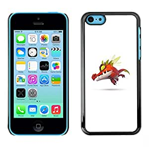 iPhone 5C , Cute P0Kemon Monster - Cáscara Funda Case Caso De Plástico
