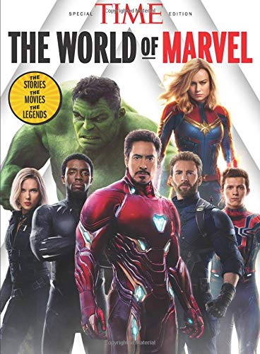 TIME The World of Marvel Single Issue Magazine – March 1, 2019