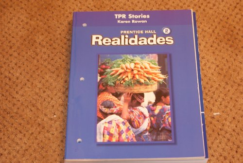 PRENTICE HALL SPANISH REALIDADES TOTAL PHYSICAL RESPONSE STORYTELLING BLACKLINE MASTERS LEVEL 2 FIRST EDITION 2004
