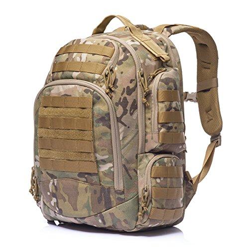 YAKEDA Lightweight Packable Travel Backpack Handy Foldable Hiking Daypack - Durable & Waterproof-KF011 (Camouflage)