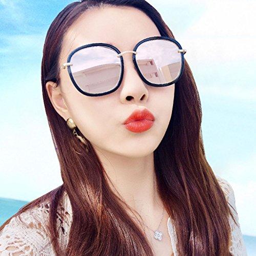 de Sol Color Coreanas 2 Femeninas Gafas Delgadas 3 DT Gafas Sol polarizadas Gafas de 5SYxq