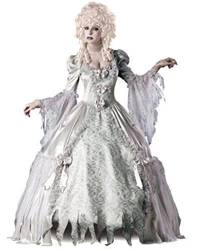 Mobscene Halloween Costumes - InCharacter Costumes Corpse Countess Costume, White,